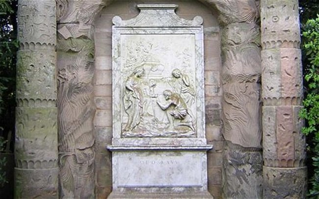The monument inscription of Staffordshire