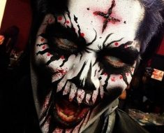 Creepy Halloween Makeup Ideas for Boys 4