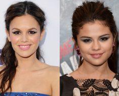 Rachel Bilson and Selena Gomez